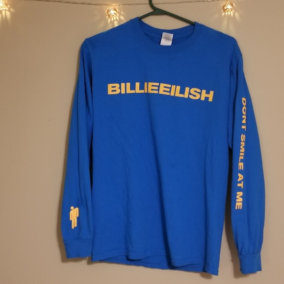 ee5c4ee65cb Billie Eilish Tops - Billie Eilish Long Sleeve Tshirt